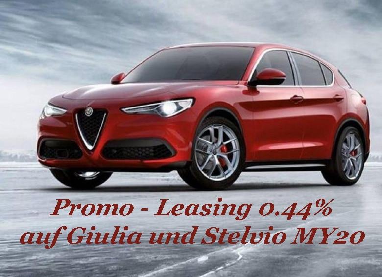 Promo Leasing Giulia und Stelvio MY 20